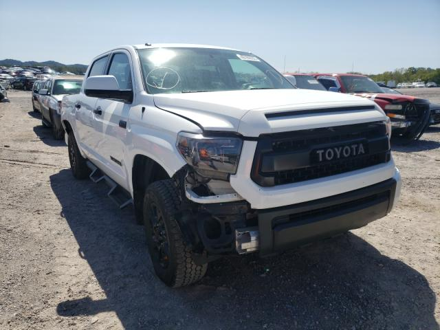 Salvage cars for sale from Copart Madisonville, TN: 2017 Toyota Tundra CRE