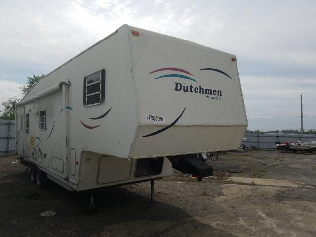 Dutchmen Travel Trailer salvage cars for sale: 1998 Dutchmen Travel Trailer