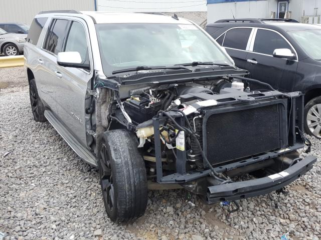 Salvage cars for sale from Copart Hueytown, AL: 2015 GMC Yukon XL K