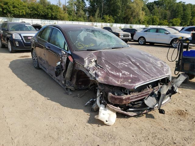 Lincoln MKZ salvage cars for sale: 2017 Lincoln MKZ