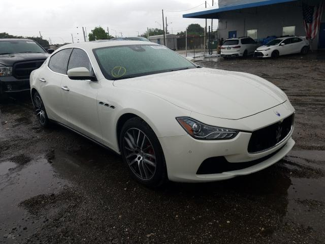 Maserati salvage cars for sale: 2017 Maserati Ghibli S