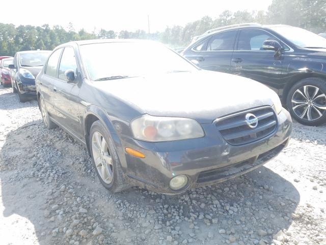 Nissan Maxima salvage cars for sale: 2002 Nissan Maxima