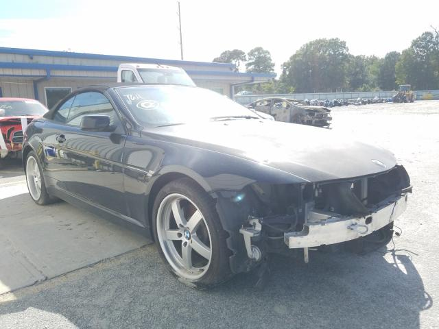 BMW 645 CI AUT salvage cars for sale: 2004 BMW 645 CI AUT