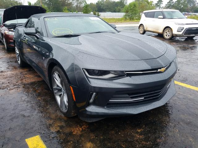 Salvage cars for sale from Copart Eight Mile, AL: 2018 Chevrolet Camaro LT