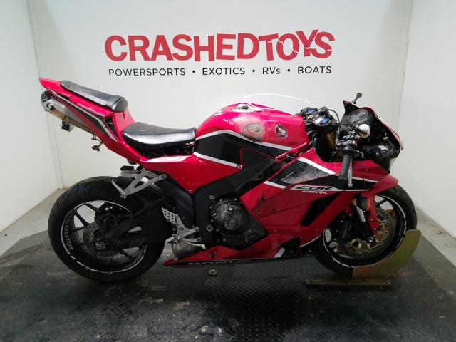 Salvage cars for sale from Copart Conway, AR: 2018 Honda CBR600 RR