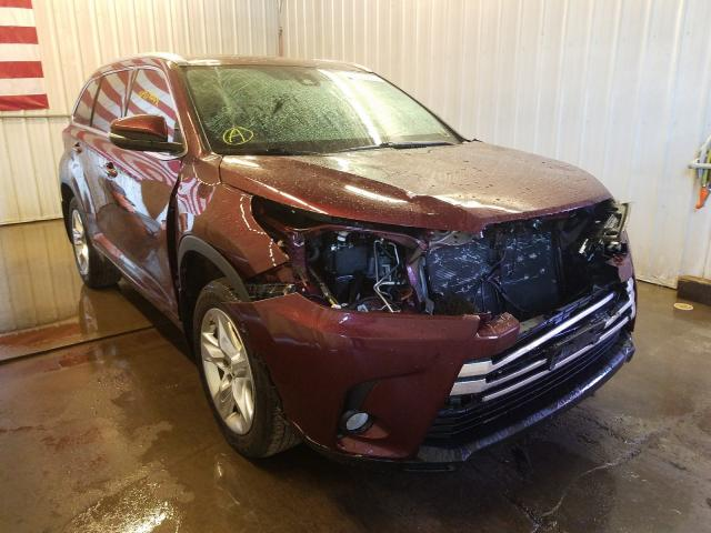 Salvage cars for sale from Copart Avon, MN: 2017 Toyota Highlander