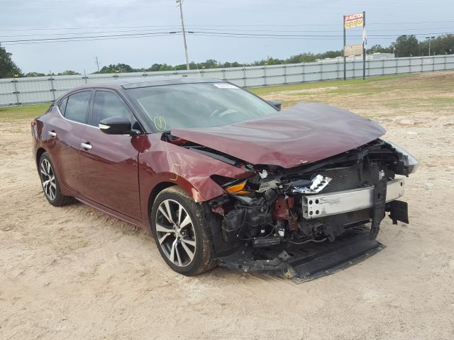 Salvage cars for sale from Copart Newton, AL: 2016 Nissan Maxima 3.5