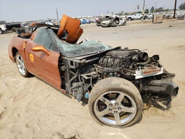 Salvage cars for sale from Copart Fresno, CA: 2008 Chevrolet Corvette