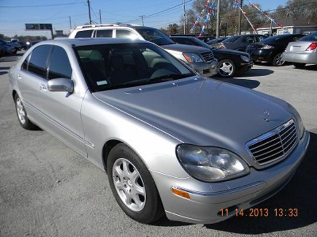 Mercedes-Benz S 430 salvage cars for sale: 2000 Mercedes-Benz S 430