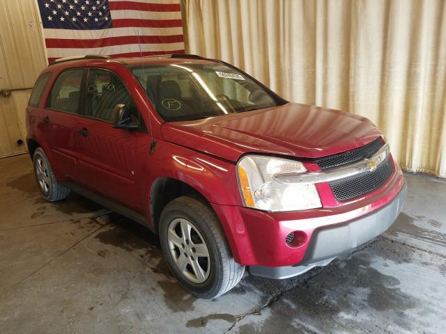 Chevrolet Equinox LS salvage cars for sale: 2006 Chevrolet Equinox LS