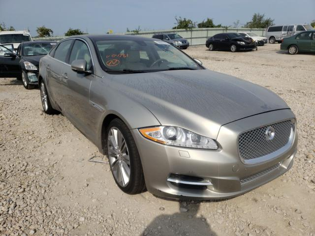 Salvage cars for sale from Copart Kansas City, KS: 2011 Jaguar XJL
