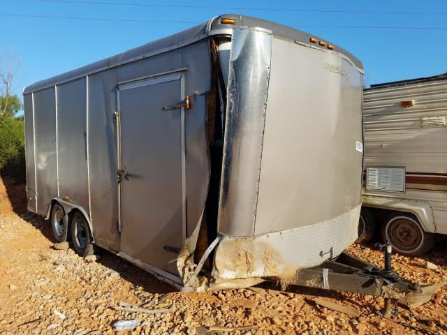 Cargo Trailer salvage cars for sale: 2007 Cargo Trailer