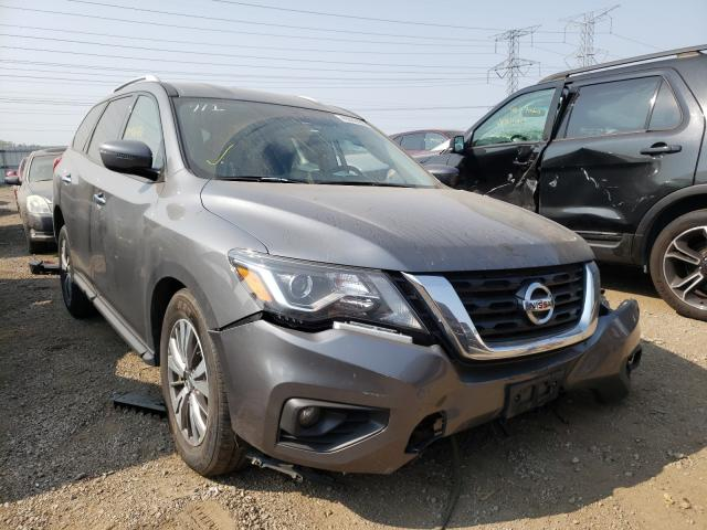 Salvage cars for sale from Copart Elgin, IL: 2019 Nissan Pathfinder