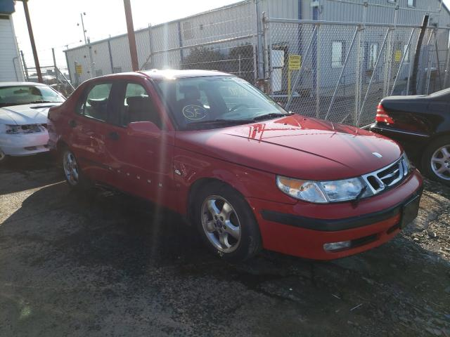 Saab salvage cars for sale: 1999 Saab 9-5 SE