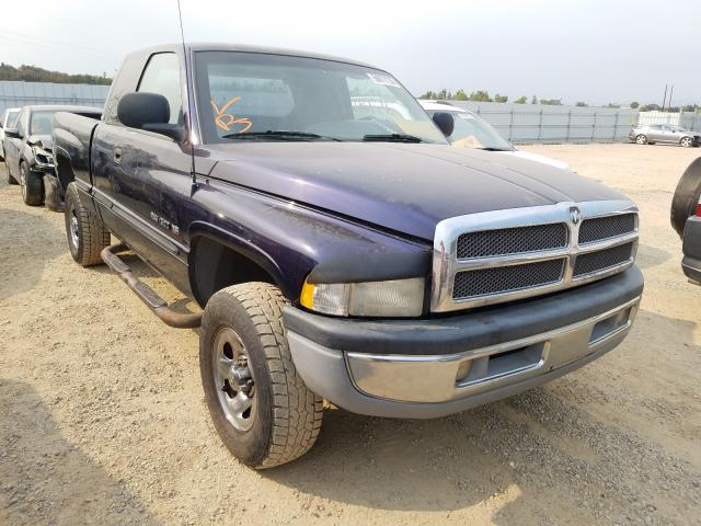 Salvage cars for sale from Copart Anderson, CA: 1998 Dodge RAM 1500