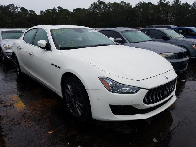 Maserati Ghibli S salvage cars for sale: 2018 Maserati Ghibli S