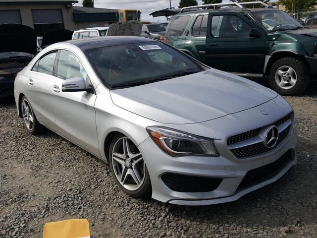 Salvage cars for sale from Copart Eugene, OR: 2014 Mercedes-Benz CLA 250