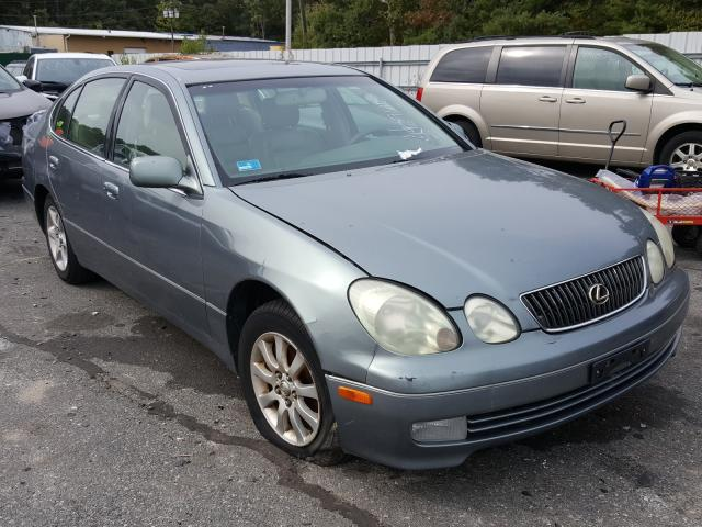 Salvage cars for sale from Copart Exeter, RI: 2002 Lexus GS 300