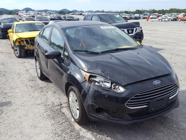 Salvage cars for sale from Copart Madisonville, TN: 2015 Ford Fiesta S