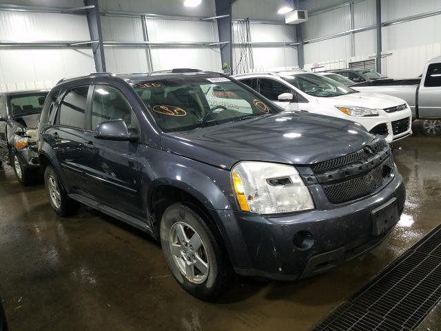 Chevrolet Equinox LT salvage cars for sale: 2009 Chevrolet Equinox LT