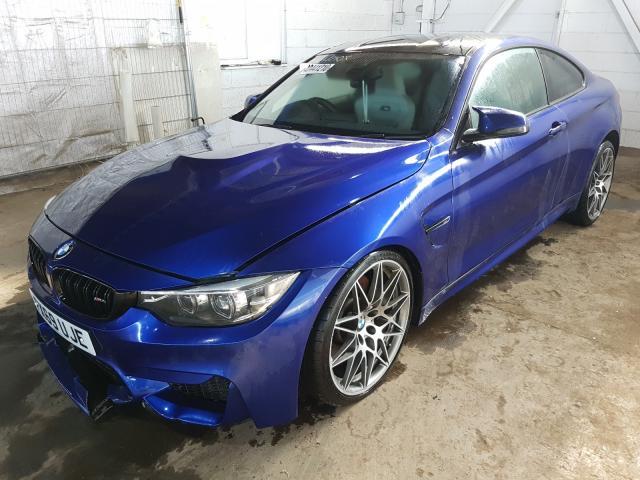BMW M4 COMPETI - 2019 rok