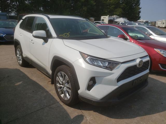 Salvage cars for sale at Eldridge, IA auction: 2020 Toyota Rav4 XLE P
