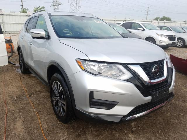 Salvage cars for sale from Copart Elgin, IL: 2019 Nissan Rogue S