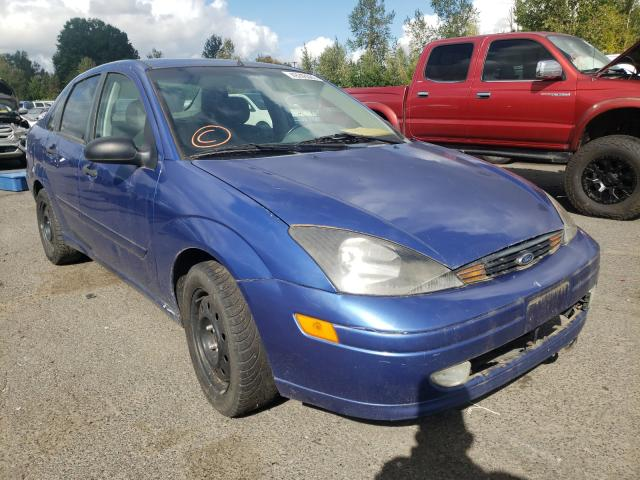 Ford Focus salvage cars for sale: 2003 Ford Focus