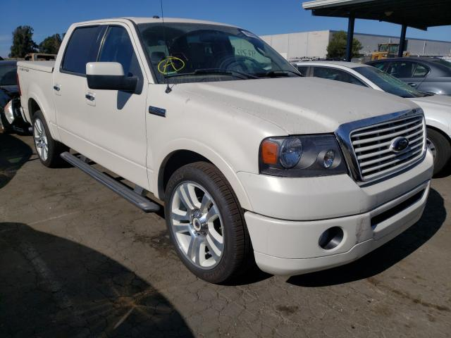 Salvage cars for sale from Copart Hayward, CA: 2008 Ford F150 Super