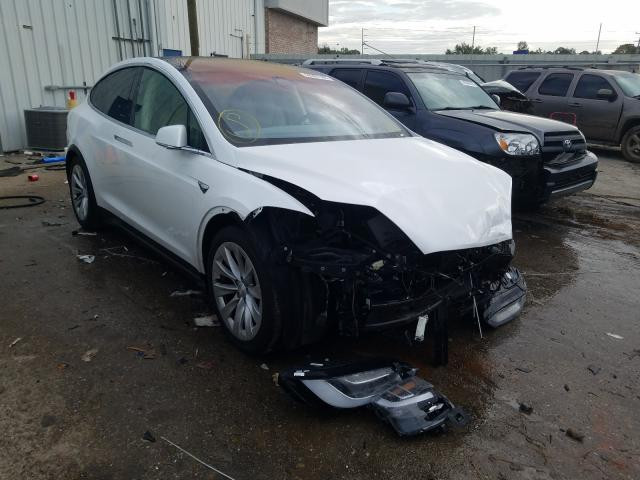 Salvage cars for sale from Copart Montgomery, AL: 2017 Tesla Model X