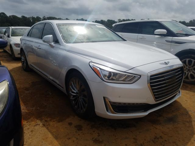 Salvage cars for sale from Copart Eight Mile, AL: 2017 Genesis G90 Premium
