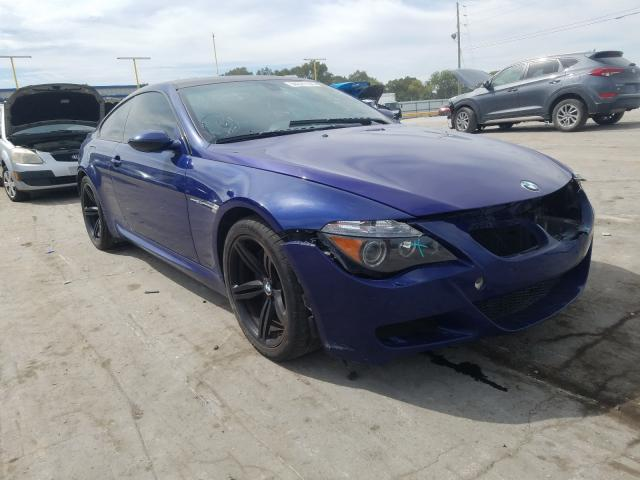 BMW M6 salvage cars for sale: 2006 BMW M6