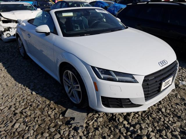 Salvage cars for sale from Copart Windsor, NJ: 2017 Audi TT