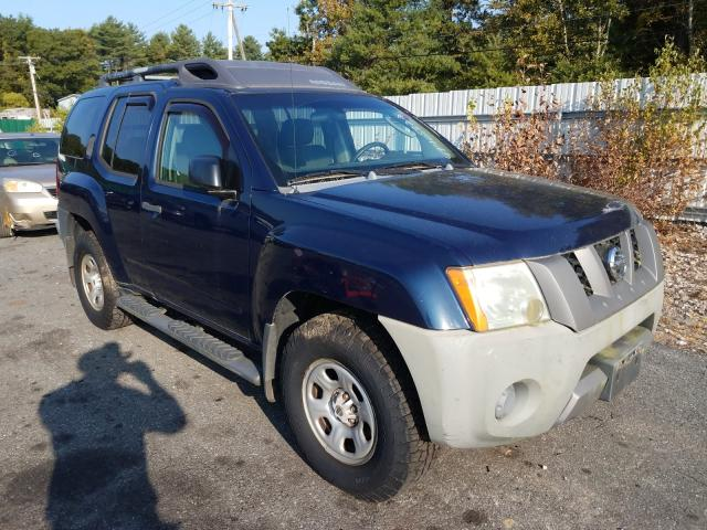 Salvage cars for sale from Copart Exeter, RI: 2006 Nissan Xterra OFF
