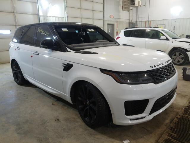 Salvage cars for sale at Columbia, MO auction: 2020 Land Rover Range Rover