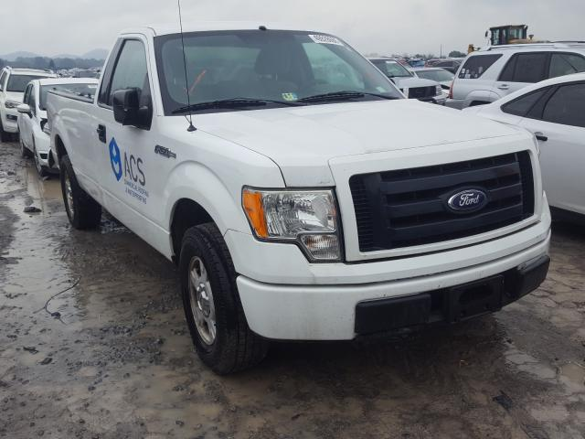 Salvage cars for sale at Madisonville, TN auction: 2010 Ford F-150