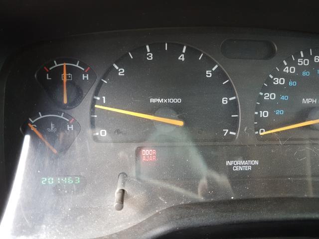 2001 DODGE DAKOTA QUA - Engine View
