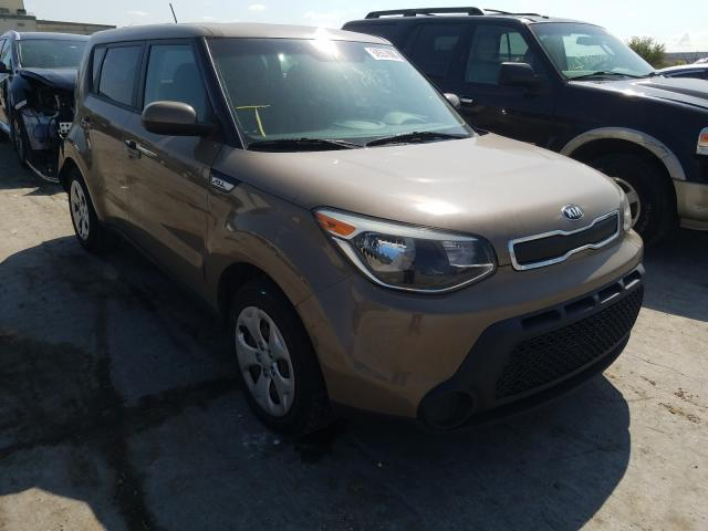 Salvage cars for sale from Copart Tulsa, OK: 2015 KIA Soul