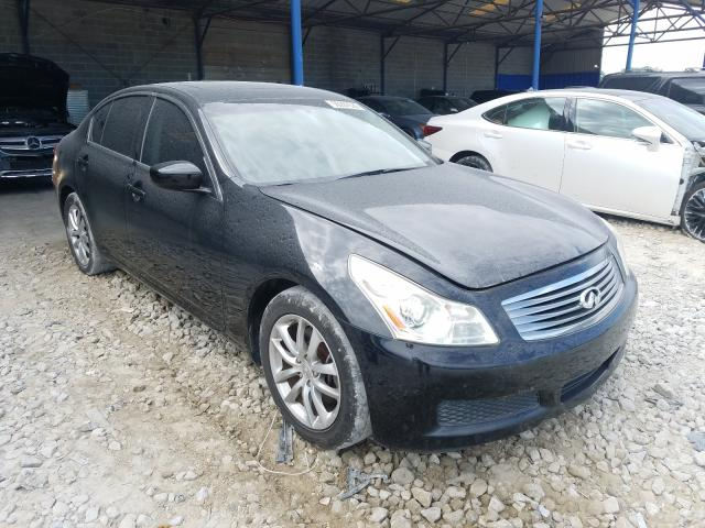 Salvage cars for sale from Copart Cartersville, GA: 2009 Infiniti G37 Base
