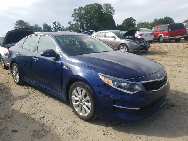 Vehiculos salvage en venta de Copart China Grove, NC: 2017 KIA Optima LX