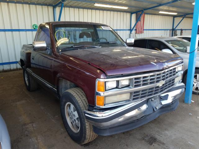 Chevrolet GMT-400 K1 salvage cars for sale: 1989 Chevrolet GMT-400 K1