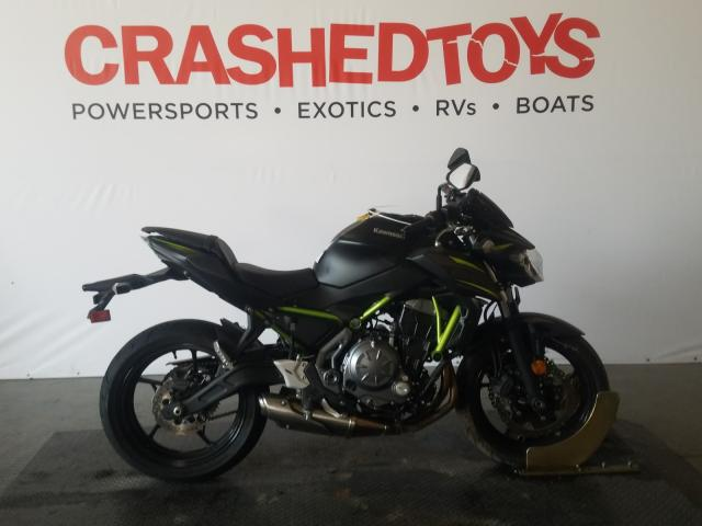 Salvage cars for sale from Copart San Diego, CA: 2019 Kawasaki ER650 H