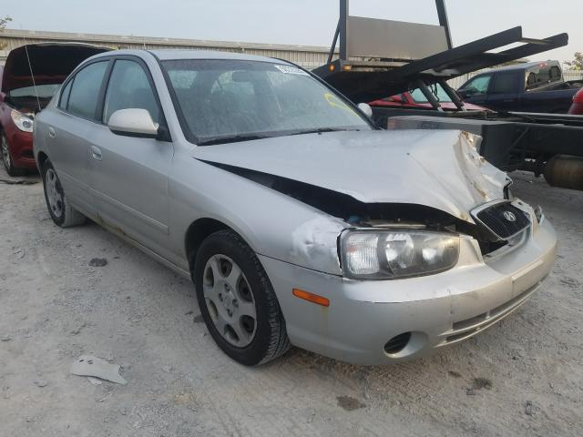salvage title 2003 hyundai elantra sedan 4d 2 0l for sale in walton ky 50225350 a better bid car auctions