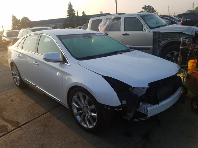 Salvage cars for sale from Copart Woodhaven, MI: 2017 Cadillac XTS Luxury