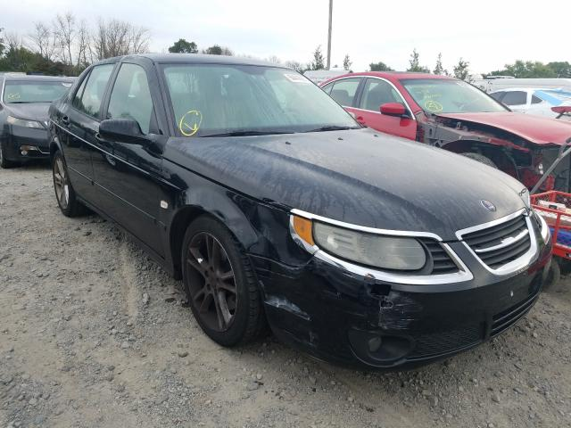 Saab salvage cars for sale: 2008 Saab 9-5 2.3T