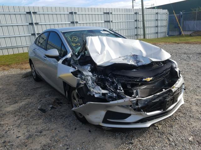 Salvage cars for sale from Copart Gainesville, GA: 2016 Chevrolet Cruze LS