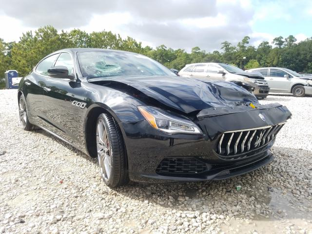 Maserati salvage cars for sale: 2018 Maserati Quattropor