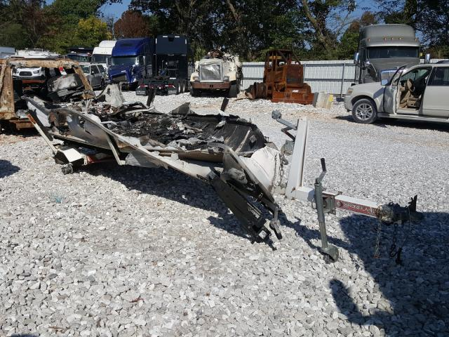 Smokercraft salvage cars for sale: 1992 Smokercraft Marine Trailer