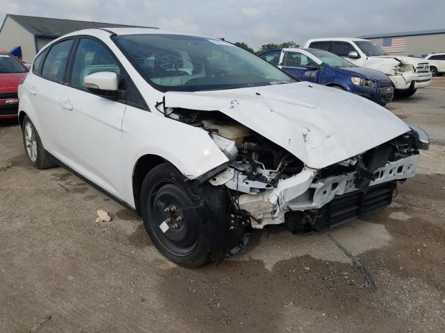 Salvage cars for sale from Copart Louisville, KY: 2016 Ford Focus SE