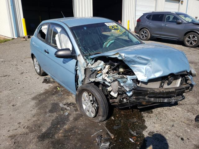 Hyundai Accent salvage cars for sale: 2008 Hyundai Accent